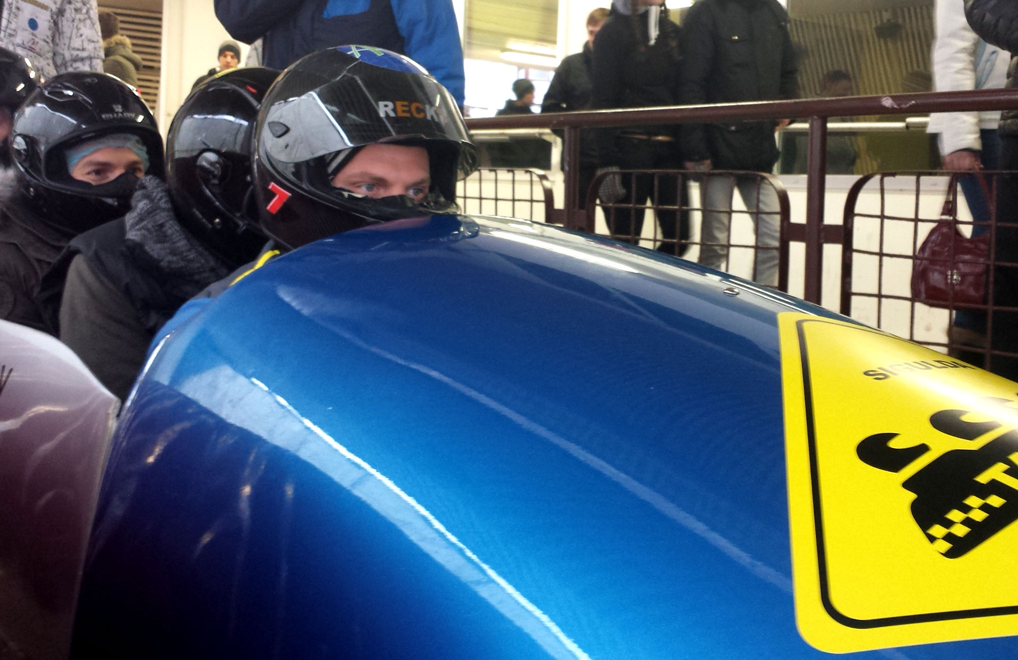 Bobsleigh Ride Experience in Sigulda, Latvia